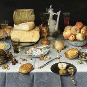 Still life with cheese di Floris Claesz van Dijck, c. 1615